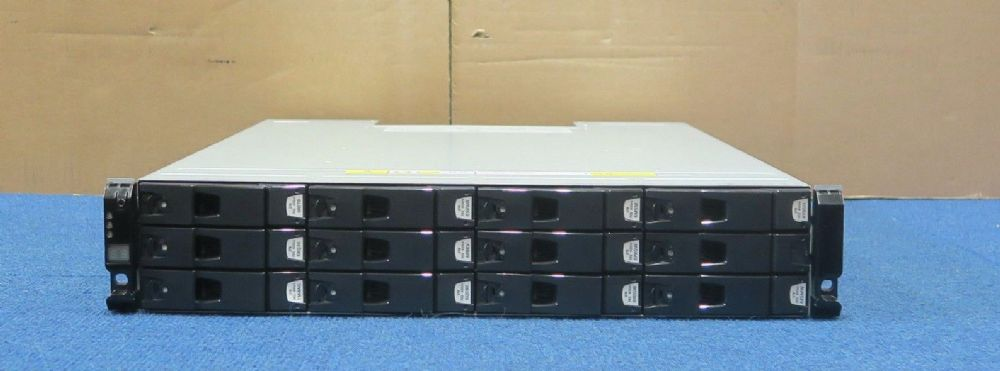 Dell Compellent Series 30 HB-1235 12-Bay SAS 12x 2TB HDD 2x Controller Enclosure